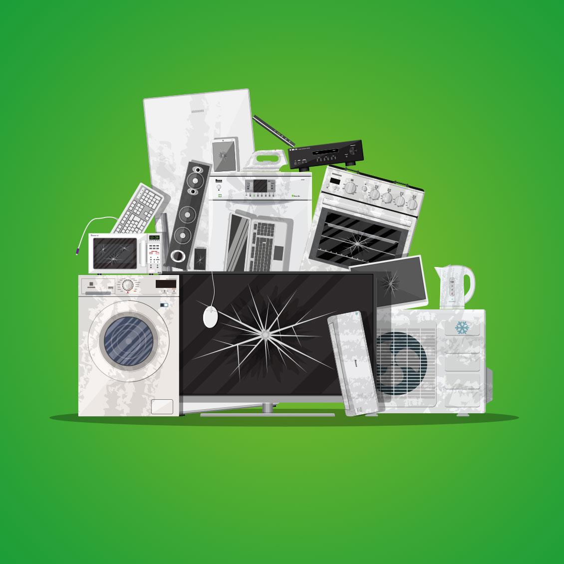 Reciclaje aparatos electrónicos